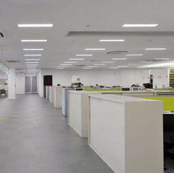事務所LED照明