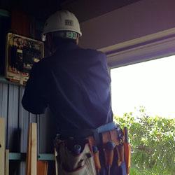 漏電改修工事