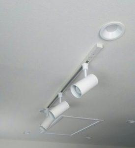 配線ダクト照明